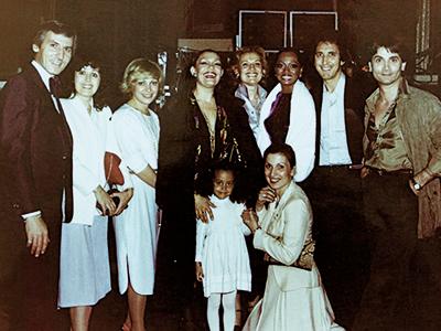 Με την Diana Ross